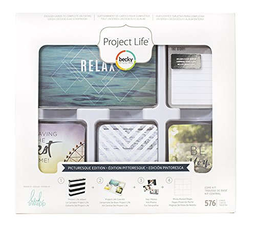 - Project Life Heidi Swapp Picturesque Edition Core Kit