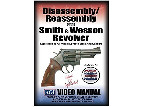 American Gunsmithing Institute DVD S&W Smith & Wesson Revolvers Disassembly and Reassembly + Ultimate Arms Gear Gunsmith & Armorer's Cleaning Work Bench Gun Mat + Professional Cleaning Tube Chamber Care Supplies Kit Deluxe 17 pc Handgun Pistol Cleaning Kit for .22 .357 .38 9mm .44 .45 Caliber Brushes, Swab, Slotted Tips and Patches + Gun Wipes Patches Cleaner Oil Pop-Up Dispenser