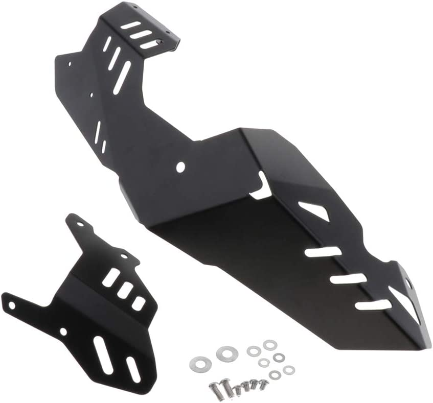 Gazechimp CNC Aluminum Motorcycle Engine Guard Protector Skid Plate Replacement for Suzuki V-Strom 650 17-19