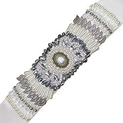 Rhinestone Crystal Beaded Bridal Sash