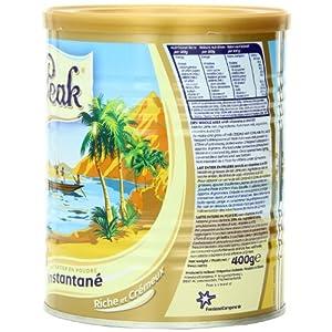 Peak Instant Full-Cream Dry Whole Milk Powder, 400-Grams