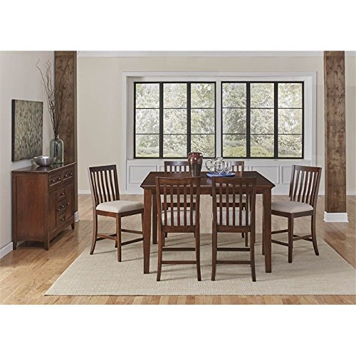 A-America Westlake 8 Piece Extendable Counter Height Dining Set