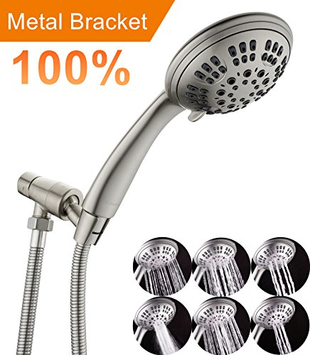 brass massage shower head - 4