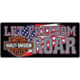 Harley-Davidson® Freedom Roar Embossed Tin Sign