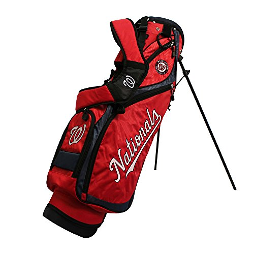 Team Golf 97927 Washington Nationals MLB Nassau Golf Stand Bag by Team Golf