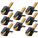 TOLESA 4-Inch Spring Clamps Powerful Force 8-Piece