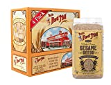 Bob's Red Mill Brown Sesame Seeds, 16 Ounce (Pack of 4) (Package May Vary)
