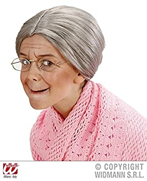 Girls Grandma Little Old Lady Woman Granny Kids Costume 100 Days Party Book Week