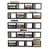 You-Have-Space Wall Mount 34 Inch Media Storage