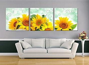 Bernice-Canvas Art, 3p Art Deco Arte moderna astratta muro dipinto ...