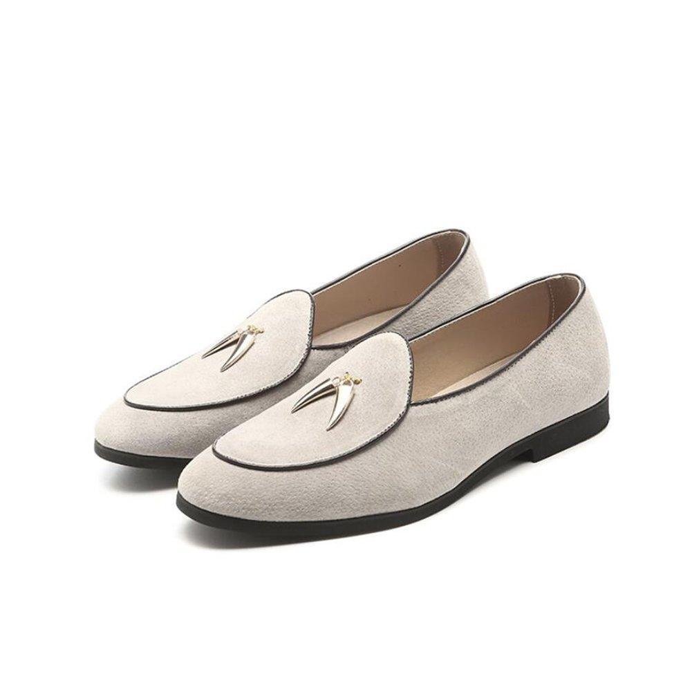 f0f3e5564598f Amazon.com: XUEXUE Men's PU Shoe Spring Summer Loafers & Slip-Ons ...