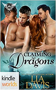 Paranormal Dating Agency: Claiming Her Dragons (Kindle Worlds Novella) by [Davis, Lia]