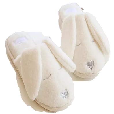 72f3e82c3b9 Rabbit Bunny Slippers Girls Boys Ladies Novelty Christmas  Amazon.co.uk   Shoes   Bags
