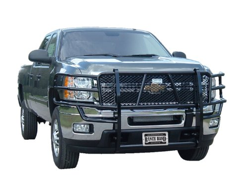 Chevy Grille Guards (Ranch Hand GGC111BL1 Legend Grille Guard for Chevy Silverado HD)