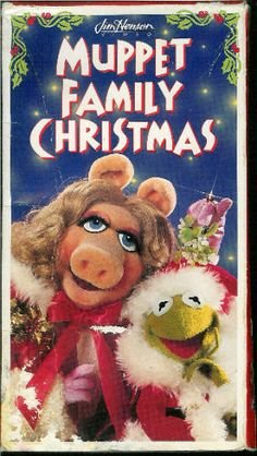 a muppet family christmas vhs - Muppets Family Christmas