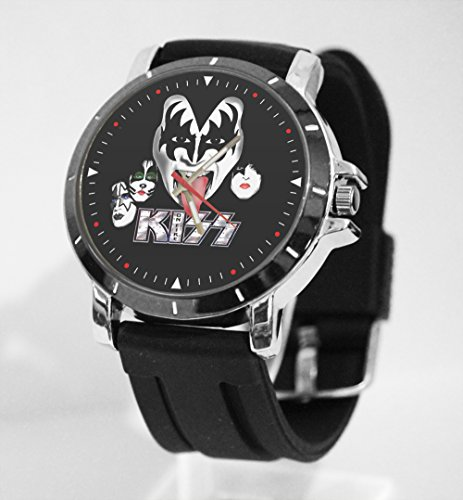 (Kiss Rock Band Logo Custom Watch Fit Your Shirt)