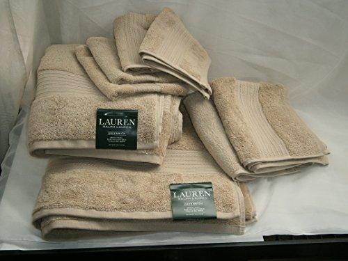 Greenwich Towel Set 8 pc DUNE / Dark Sand Beige