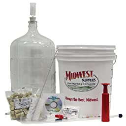 Starter Winemaking Equipment Kit