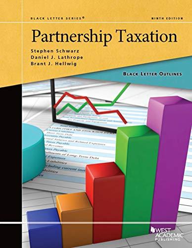 Black Letter Outline on Partnership Taxation (Black Letter Outlines) (Black-für Schwarz)