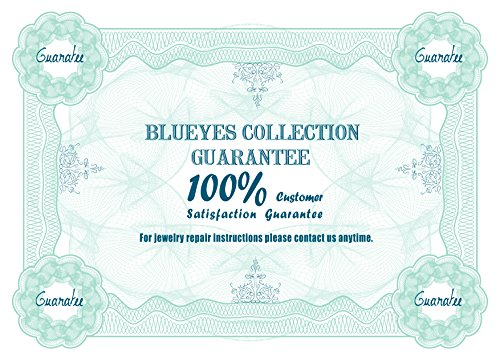 """Blueyes Collection """"Généreuse"""" Tree Agate Perles sur bracelet en cuir de daim, 5Wraps, 4mm/Perle"""