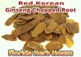 Red Korean Ginseng - Wildharvested Chopped Red Ginseng (16 oz (1 Lb))
