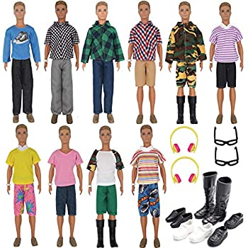BOTTOM  MATTEL KEN DOLL JURASSIC WORLD OWEN JEANS PANTS ACCESSORY CLOTHING