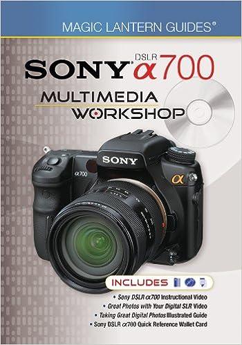 Magic Lantern Guides: Sony Dslr A700 Multimedia Workshop: Amazon ...