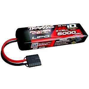 Traxxas 2872X - Power Cell 3S 11.1V LiPo Battery, 25C 5000mAh, iD Connector