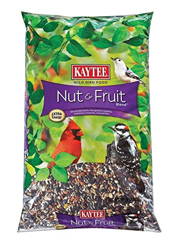 Kaytee Nut & Fruit Wild Bird Food Cherries,Peanuts,Raisins,Safflower,Striped,Striped ()