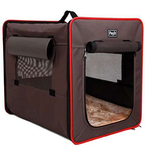 Petsfit Foldable Cat Kennel,Cat Cage,Dog Kennel,Lightweight Pet Kennel