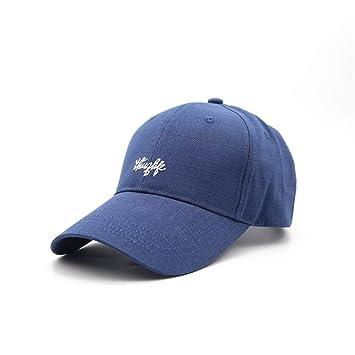7bfb2d4a44ea BFQCBFSG Gorra De Béisbol Azul De Los Hombres Carta De La Moda ...