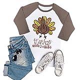 Vin beauty Women Funny Turkey Baseball Tee Blouse T-Shirt Liner Shirts S