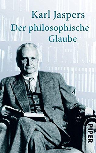 Der philosophische Glaube