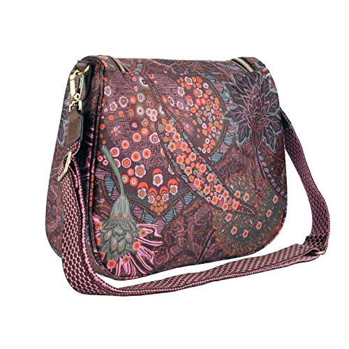 Oilily Tasche - Paisley - M Shoulder Bag - Coffee