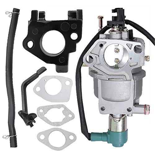 Anxingo Carburetor for Harbor Freight Predator 420CC 13HP 14HP 15HP 16HP RATO R420-III Engine 69671 68530 68525 7000W 8750W 7000 8750 Watts Generator