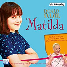 Matilda (       UNABRIDGED) by Roald Dahl Narrated by Hella von Sinnen, Peter Fricke, Johanna Burg