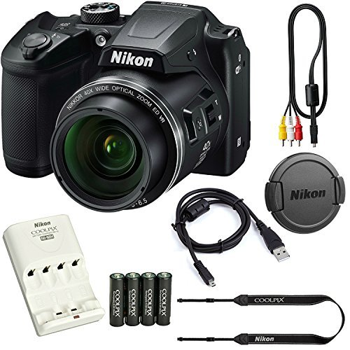 nikon b500 optical zoom includes