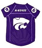 Dog Zone NCAA Pet Football Jersey, X-Large, Purple, Kansas State University, My Pet Supplies