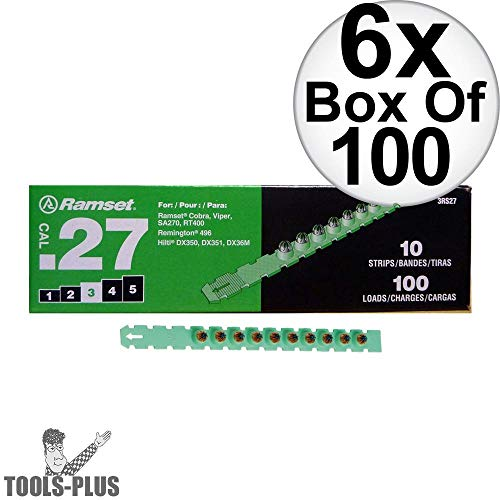 Strip Load 27 Cal - Ramset 3RS27 10 Strips of 10 (600 total) #3
