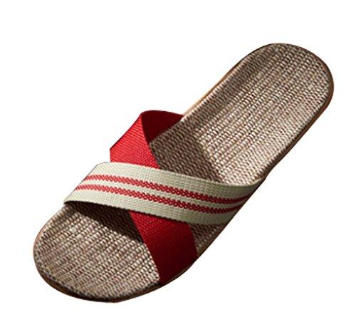 Pantofole Da Donna Cattior Estate Pantofole Da Donna Per Interni Rosse