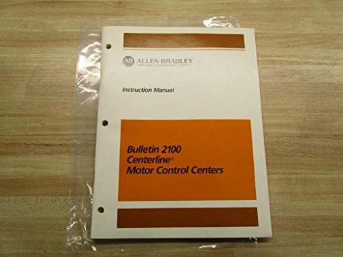 (Allen Bradley 40051-930-01 (A) Manual Motor Control Centers 2100)