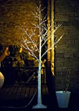 Fashionlite 6FT 96 LED Light Winter Birch Xmas Decorative Tree Home/Party/Festival/Christmas/Indoor Use