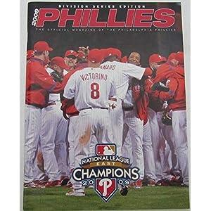 2007 Philadelphia Phillies Division Playoff Gameday Magazine 130071