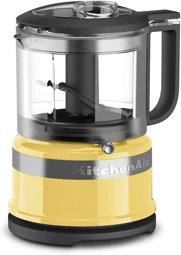 KitchenAid Refurbished 3.5-Cup Mini Food Processor | Majestic Yellow