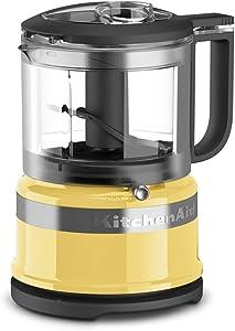 KitchenAid Refurbished 3.5-Cup Mini Food Processor   Majestic Yellow