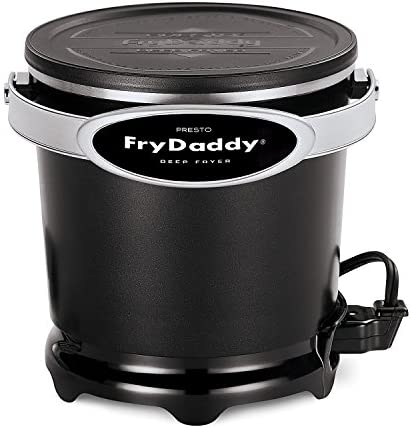 Presto 05420 FryDaddy Electric Deep Fryer 4-cup capacity