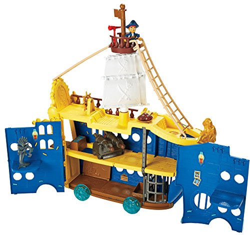 Disney Junior Jake and The Neverland Pirates Captain Jake Mighty Colossus High Seas Adventure