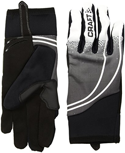 sex Intensity Windproof Silicone Print Gloves, Black/White, Large ()