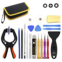 E.Durable LCD Screen Opening Pliers, Universial Screen Replacement Repair Full Kits for iPhone7 7plus iPhone Series, Ipads, Ipad Air, Ipods, Samsung Galaxy and More (Tool Set 1)