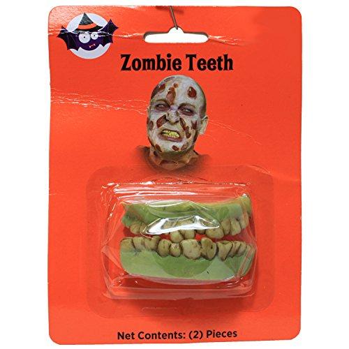 Panda House Costume Zombie Teeth